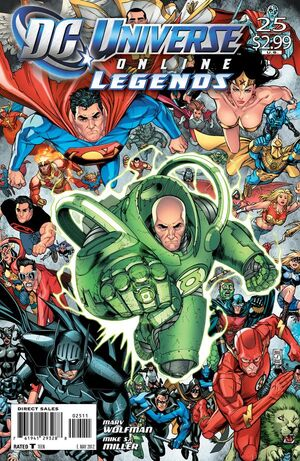 Cover for DC Universe Online Legends #25