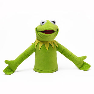 Where can I get a free sewing pattern for a Kermit the frog puppet?