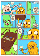 Adventure time comic page 4