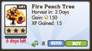 Fire Peach Tree Market Info (2012)