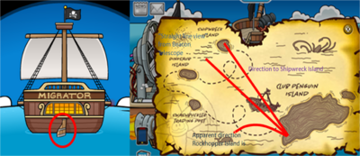 Rockhopper Island Direction