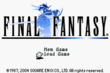 FFI GBA Title Screen