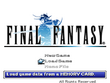 FFI PSX Title Screen