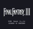 FFVI SNES Title Screen