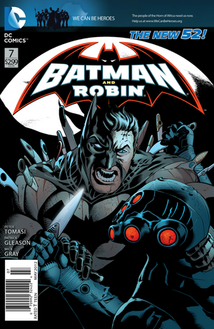 Cover for Batman and Robin #7