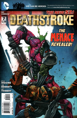 Cover for Deathstroke #7