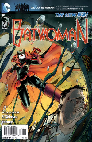 Cover for Batwoman #7