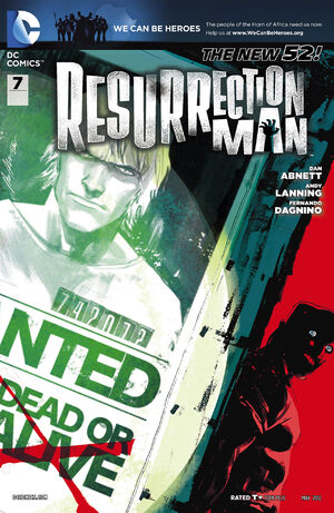 Cover for Resurrection Man #7