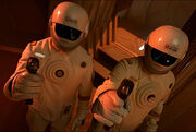 Starfleet engineering suits