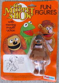Palitoy 1977 fun figures rowlf