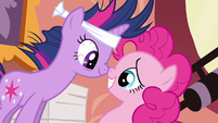 Twilight & Pinkie Pie make sense S2E20