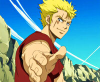Let&#39;s hold hands with Laxus