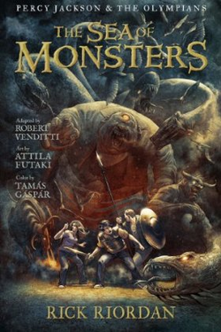 The Sea of Monsters graphic novel