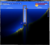 Terraria Shark trap