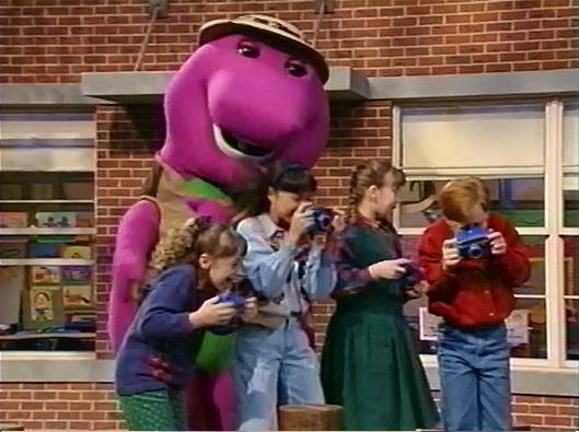 Barney Doll Closing