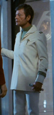 Starfleet doctor&#39;s attire, 2285