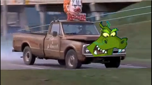 &#39;Harriet Hippo and the Mean Green Trucks&#39; Part 2 Harriet the Hippo Truck (2003-04-01 - Cyberchase 203)