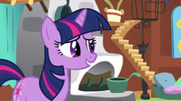 Twilight Sparkle talking S2E21