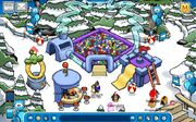 Blue Puffle Room