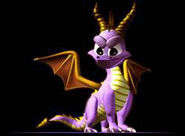 Spyro pose
