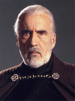 Count Dooku headshot gaze