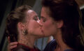 Lenara Kahn and Jadzia Dax kiss.jpg