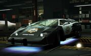 Nfs world lamborghini countach cop edition