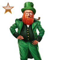 Huge item leprechaun bronze 01
