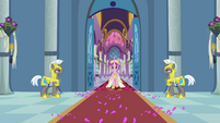 Cadance walking S2E26
