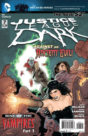Cover for Justice League Dark #7