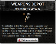Weapons Depot Level 13