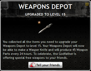 Weapons Depot Level 15
