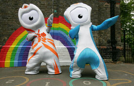 Olympic mascots 2012