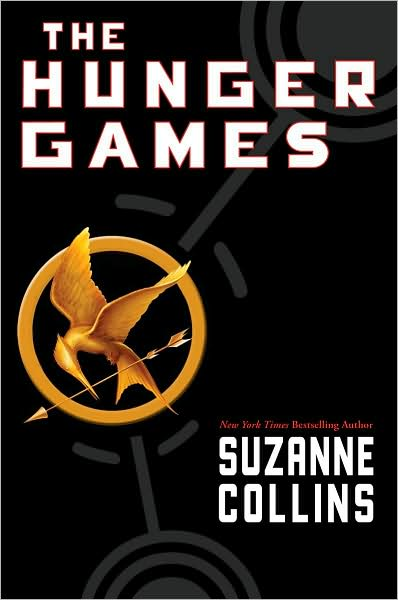 The Hunger Games. Hungergames poster.jpg. US hardcover edition.