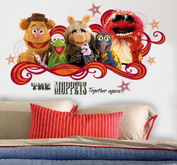 Muppet collage decals