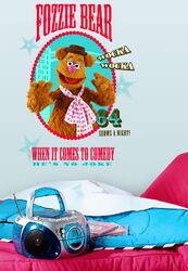 Roommates decals fozzie bear 1