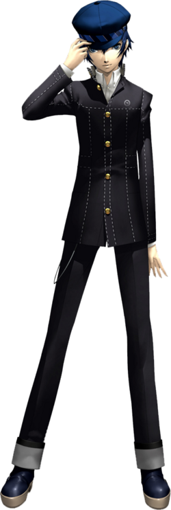Naoto Shirogane render