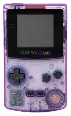 Game Boy Color - Purple Model