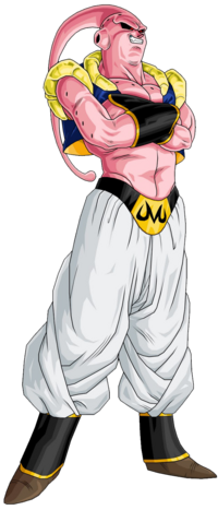 Super Buu Gotenks Absorbed by Rexobias