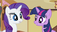 Rarity hear Twilight S2E23