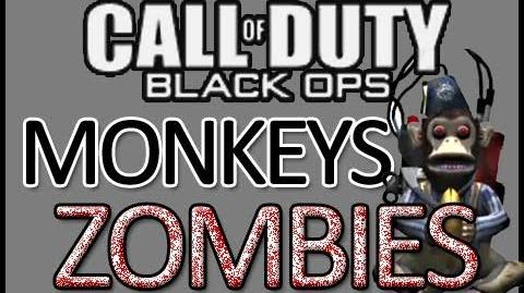 Black Ops ZOMBIES Ascension - Monkey Round Gameplay