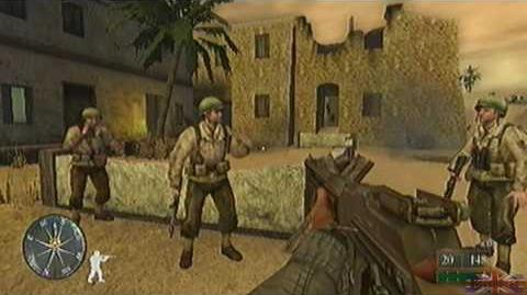 Call of Duty 2 Big Red One - Tunisia, Mission 4 Part 2