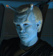 Shran missing an antenna