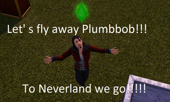 Fly with Plumbbob