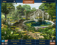 Scene Secluded Lion Pond (Scene)-Map