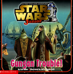 Gungan trouble cover