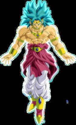Broly Super Saiyajin restinjido