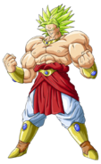 Broly super saiyan legendario