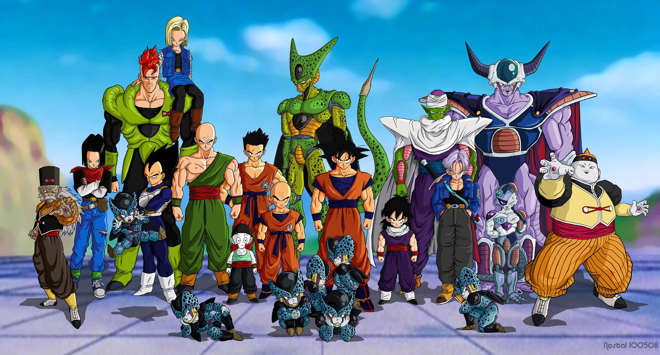Dragon Ball Z [Saga de Cel] [Mkv] [Latino] [MF] (peliculas )