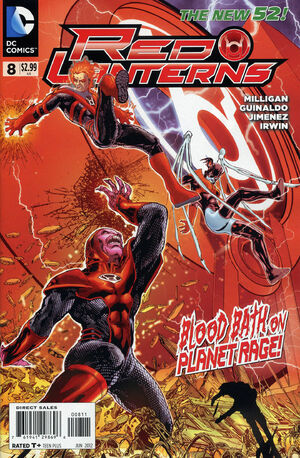 Cover for Red Lanterns #8